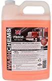 Wash Chems Pro 50 Touchless Car Wash Detergent Soap Concentrate - 1 Gallon, 128 Fluid Ounces - No Brushing Necessary - Commercial Graded Touch-less Detergent