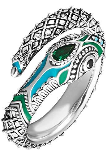 Thomas Sabo Damen-Ring Schlange TR2180-845-17-52 Ringgröße 52/16,6