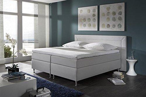 Breckle Boxspringbett 160 x 200 cm Window Box Miodormio TFK 1000 Formschaummatratze My Balance 20 Topper Gel Premium Comfort
