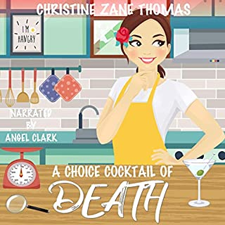 A Choice Cocktail of Death      A Foodie Files Mystery, Book 2              By:                                                                                                                                 Christine Zane Thomas                               Narrated by:                                                                                                                                 Angel Clark                      Length: 3 hrs and 43 mins     Not rated yet     Overall 0.0