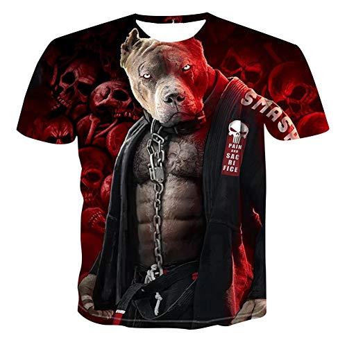 Men's and Women's cat 3D T-Shirt Women's Printed Summer Fun o-Neck Short Sleeve T-Shirt Top Men's Clothing