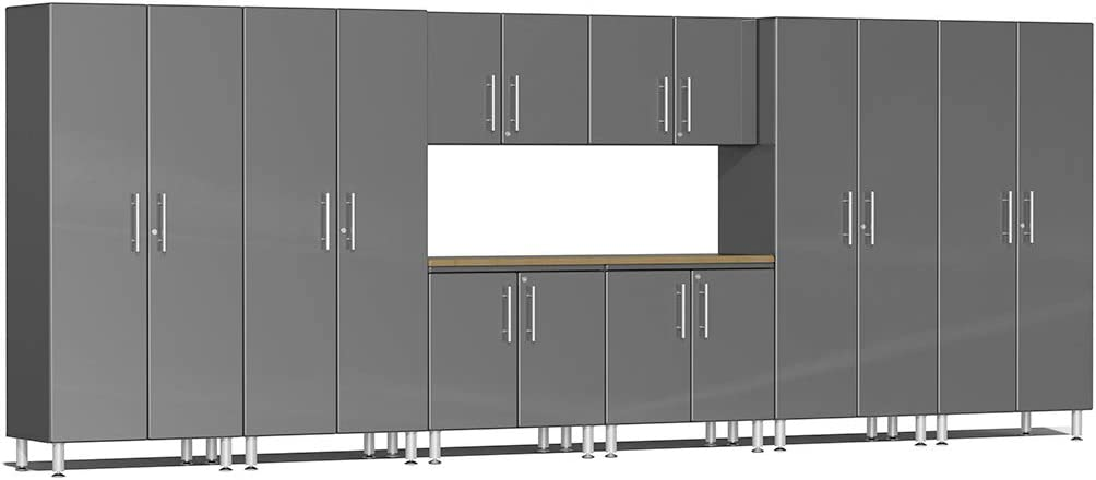 Ulti-MATE UG24092G 9-Piece Special sale item Cabinet Kit in with NEW before selling ☆ Bamboo Worktop Gr