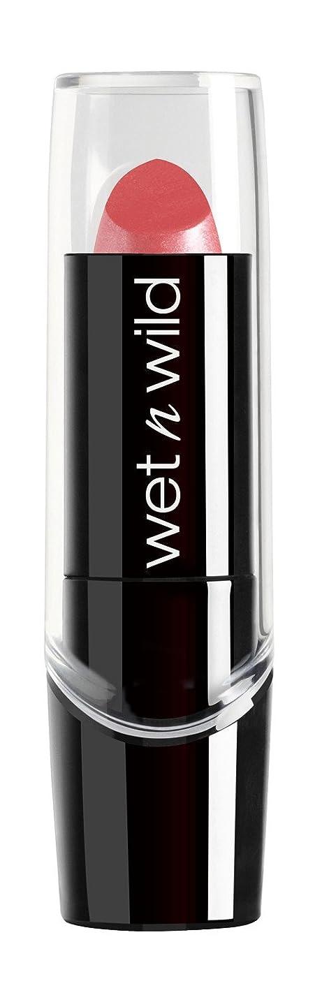 間接的クルーズ中庭WET N WILD New Silk Finish Lipstick Sunset Peach (並行輸入品)