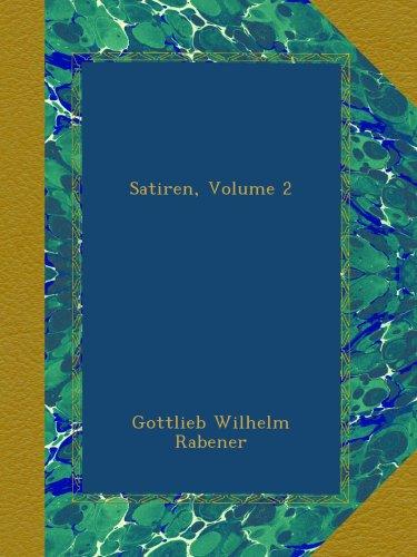 Satiren, Volume 2