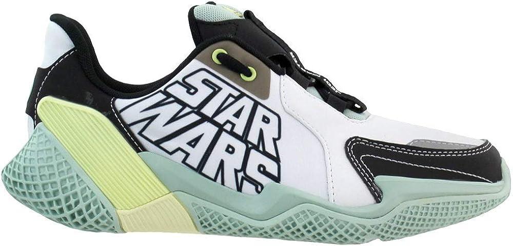 adidas Kids Boys 4Uture Runner Star Wars Running Sneakers Shoes - White
