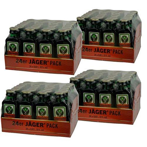 Jägermeister 96 x 0,02 Liter