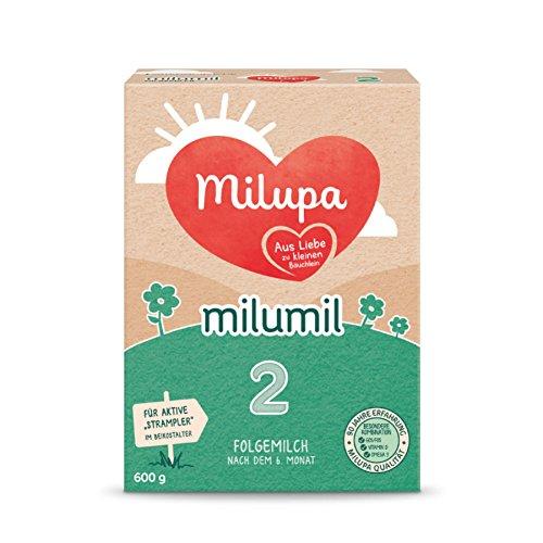 Milupa Milumil 2 Folgemilch - mach dem 6. Monat, 600g, 3er Pack (3 x 600g)