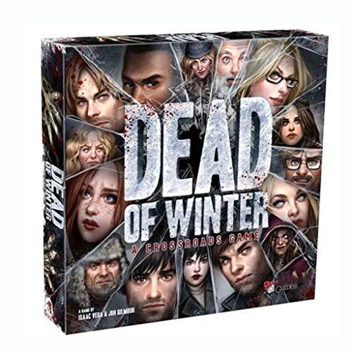 Dead of Winter Board Game Zombie Card Game, Juego de Mesa de Terror para Adultos y Adolescentes