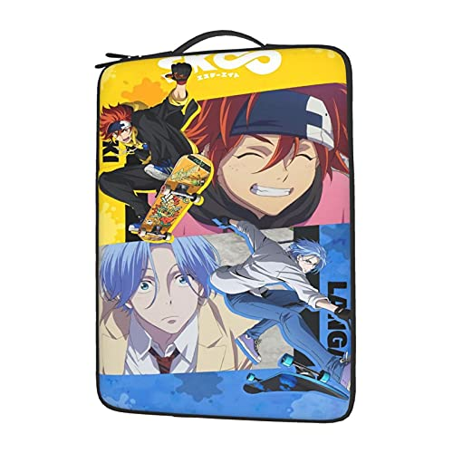 Sk8 The Infinity Anime Laptop Bag, Oxford Thick Waterproof Computer Liner Bag, Size 14 Inch -  CSYPDM