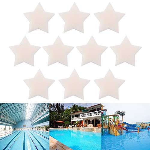 Schaumschwamm, 10PCS ölabsorbierender Schwamm für Whirlpool und Schwimmbad, entfernt Öle und Lotionen für Ihr Spa