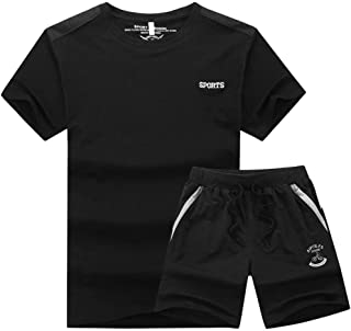 MaxTide Men's Athletic Tracksuit Full Zip Warm Jogging Sweat Suits