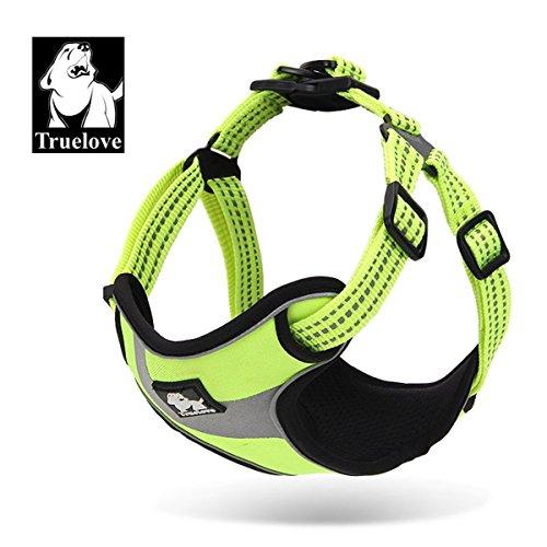 Truelove, Hundegeschirr, TLH5991, verhindert übermäßiges Ziehen des Hundes, für mehr Komfort und Sicherheit, reflektierend