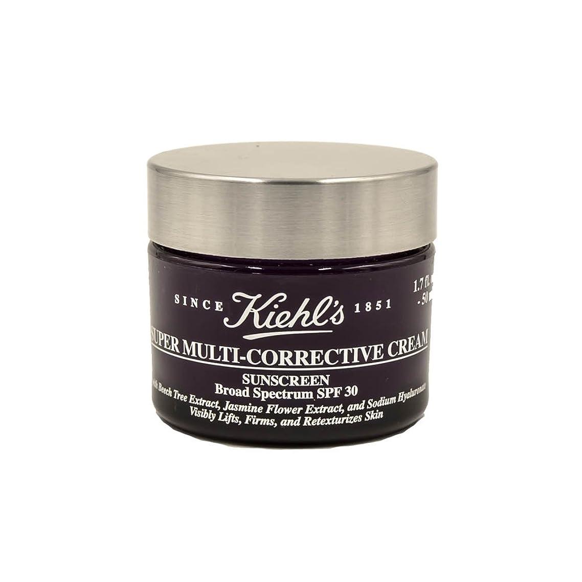 真面目なピラミッドシャトルKiehl's Super Multi-Corrective Cream Sunscreen Broad Spectrum SPF 30 1.7oz