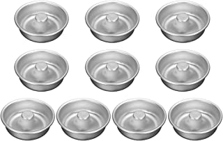 10Pcs Anodized Aluminum Alloy Donut Ring Mold Pan DIY Cake Non-Stick Mould Bakery Baking Tools Bakeware
