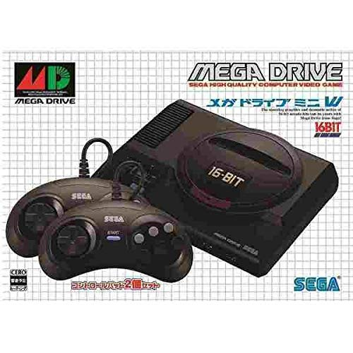 Sega Megadrive Mini W Pack Japanese Version