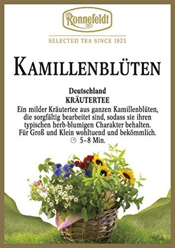 Ronnefeldt - Kamillenblüten - Kräutertee - 50g - loser Tee