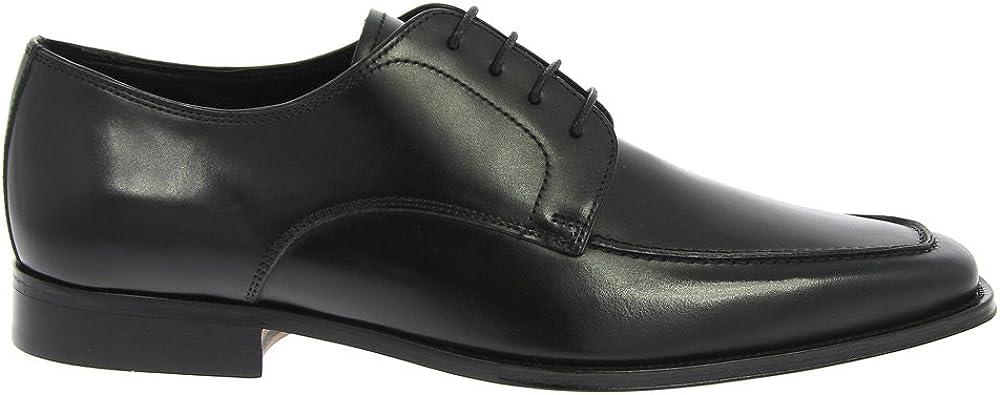 Florsheim Men's Jacobi Moc Toe Oxford Black Leather 9.5 3E