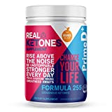 Real Ketones™ Prime D+ Exogenous Keto BHB + MCT Oil- 28 Servings- Drink Mix Powder Supplement with Electrolytes - Orange Blast- Ketosis in 1 Hour