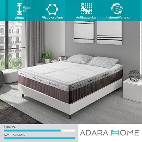 Adara Home Vanity V10 Plus - Colchón Viscoelástico 140x200