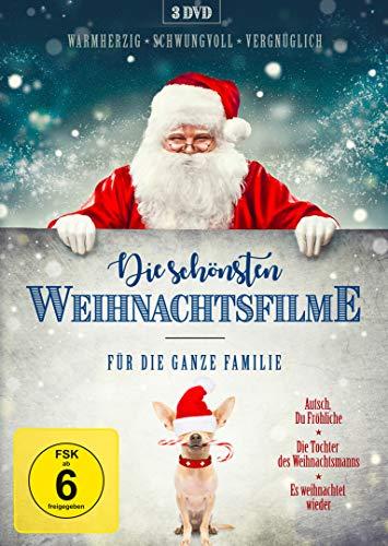 Die schönsten Weihnachtsfilme für die ganze Familie [3 DVDs]
