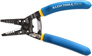 Klein Tools 11055 Wire Cutter and Wire Stripper, Stranded Wire Cutter, Solid Wire Cutter, Cuts...