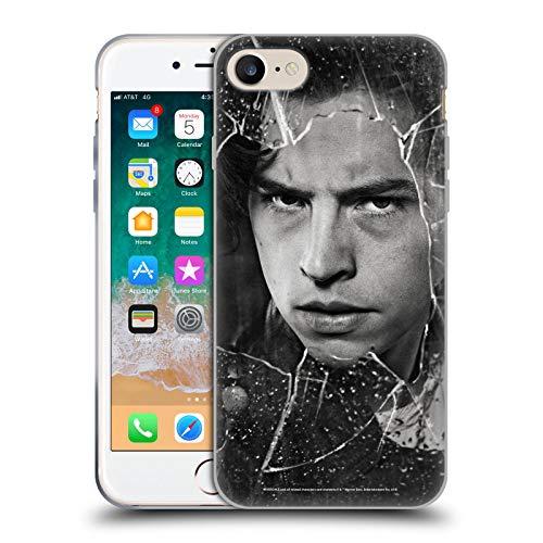 Head Case Designs Oficial Riverdale Jughead Jones Retratos de Vidrio Roto Carcasa de Gel de Silicona Compatible con Apple iPhone 7 / iPhone 8 / iPhone SE 2020