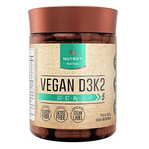 Vegan D3+K2 (60 cápsulas) - Único, Nutrify