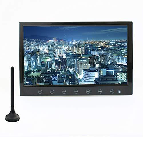 カーテレビ カーTV 9インチ フルセグ 車載テレビ HDMI スタンド付 「TV090B」