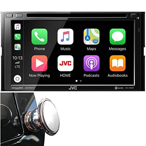 JVC Double DIN Bluetooth in-Dash DVD/CD/AM/FM Car Stereo Receiver