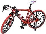 ANCHEER Ebike, ergonomisch gestaltetes Elektrofahrrad, Mini Bike Modell-Rot