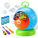Fansteck Bubble Machine - Bubble Machine for Kids with 3 Bottles...