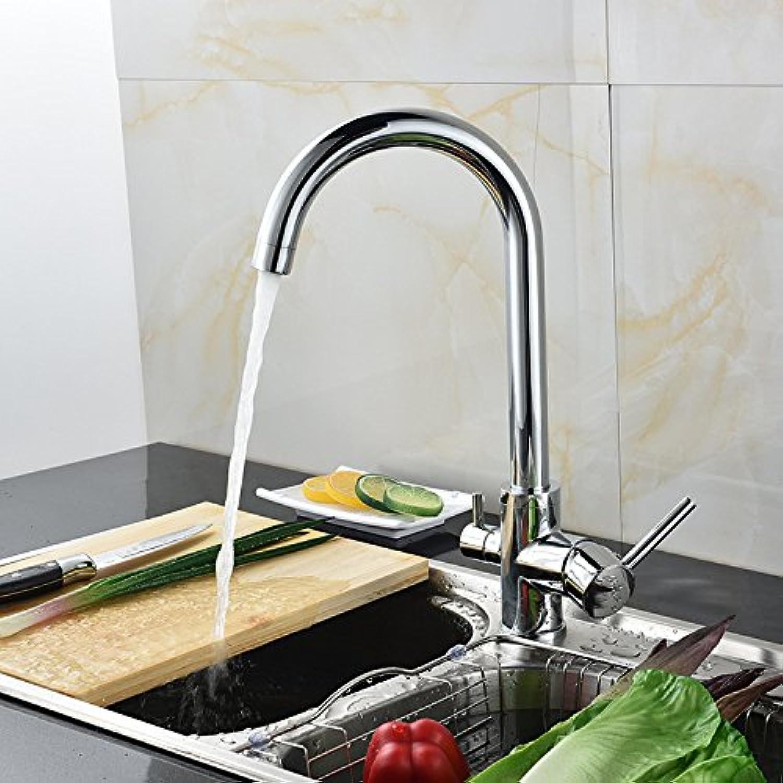 Küchenarmatur Wasserhahn Küchenarmatur Hersteller Liefern Hause Küchenspüle Mischer Wasserhahn Drei Mit Reinem Wasser Küchenarmatur Chrom Schlüssel 8005 Schwamm Paket Mit Wasserzulaufrohr