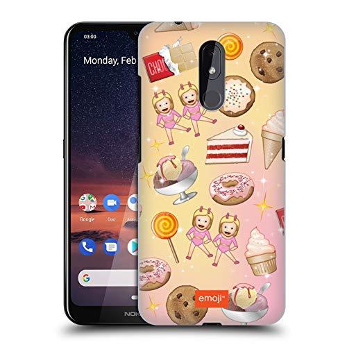 Officiële emoji® Snoepjes Patronen Hard Back Case Compatibel voor Nokia 3.2