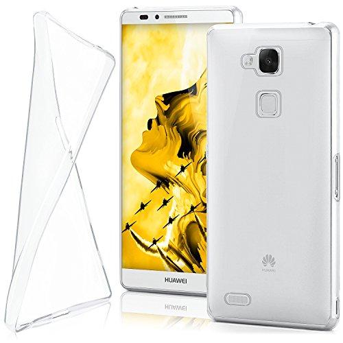 MoEx® Ultra-Clear Case [Vollständig Transparent] passend für Huawei Mate 7 | rutschfest & extrem dünn - Fast unsichtbar, Klar
