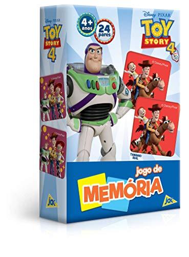 Toy Story 4 - Jogo de Memória, Toyster Brinquedos, Multicor