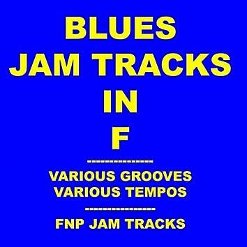 Blues Jam Tracks In F