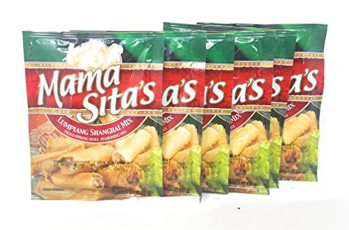 Mama Sita's Lumpiang Shanghai Mix Fried Spring Roll Seasoning Mix, Net Wt 1.4oz (40g), 6 Pack