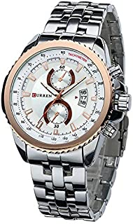 CURREN Men Fashion Watch Quartz Analog 8082