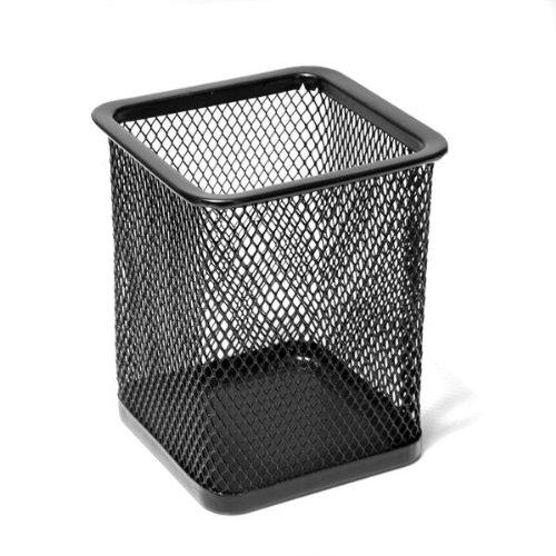 Foxpic Ufficio scrivania Penna Pot Righello Forbice portamatite Cup Mesh Organizer Container