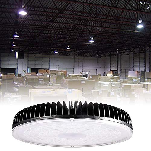 300 W LED High Bay Light, wasserdicht IP65, 24000-27000LM, superhelle Sicherheitsleuchten im Freien, Tageslichtweiß (6000-6600K) Stadionleuchten für Garten, Garage, Fabrik, Lager, schneller Versand