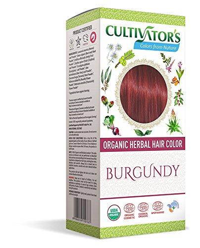 Coloration pour cheveux 100% BIO - BORDEAUX - FAIR TRADE - VEGAN