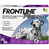 Frontline Plus for Dogs Large Dog (45 to 88 pounds) Flea and Tick...