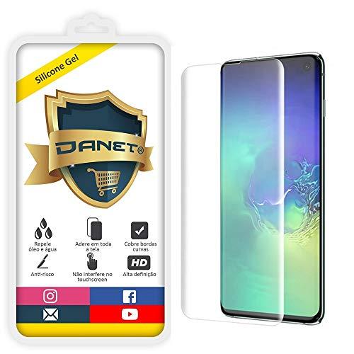 Película de Gel Silicone Flexível Para Samsung Galaxy S10e Tela 5.8 Polegadas - Proteção Que Adere E Cobre Toda A Tela - Danet