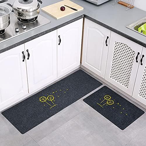HLXX Alfombra de cocina más barata antideslizante moderna alfombra de sala de estar Balcón baño alfombra impresa felpudo pasillo baño alfombra A10 50 x 160 cm