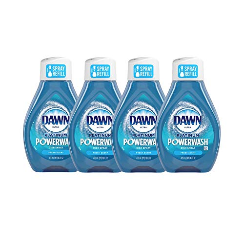 Dawn Platinum Powerwash Dish Spray Fresh Scent Refill - Multi 4 Pack