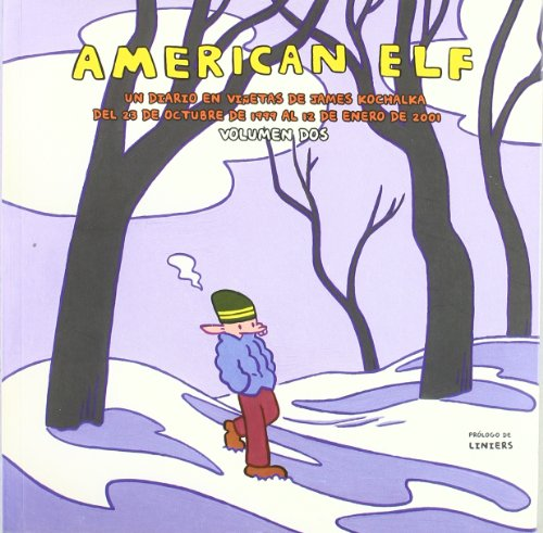 American Elf 2 - Un Diario En Viñetas De James Kochalka