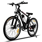 ANCHEER 2019 Upgraded Electric Mountain Bike, 250/500W 26'' Electric...