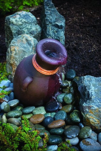 Aquascape Leaning Vase Water Fountain for Landscape and Gardens, 16 Inches Tall