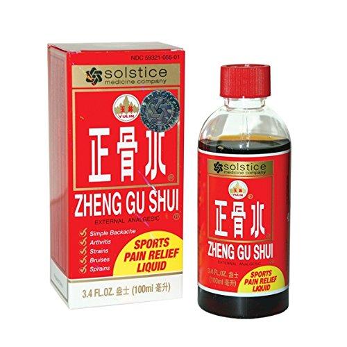 Zheng Gu Shui External Analgesic (3.4 Fl Oz) (6 Bottles)