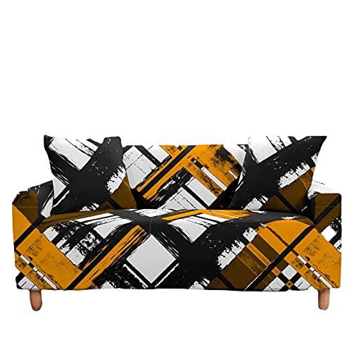 Funda para Sofá Todo Incluido Simple Y De Moda Funda Grande Antideslizante Funda Completa para Sofá Elástica Funda para Sofá De Color Adecuada para La Sala De Estar, El Dormitorio Y La Tela del Hogar